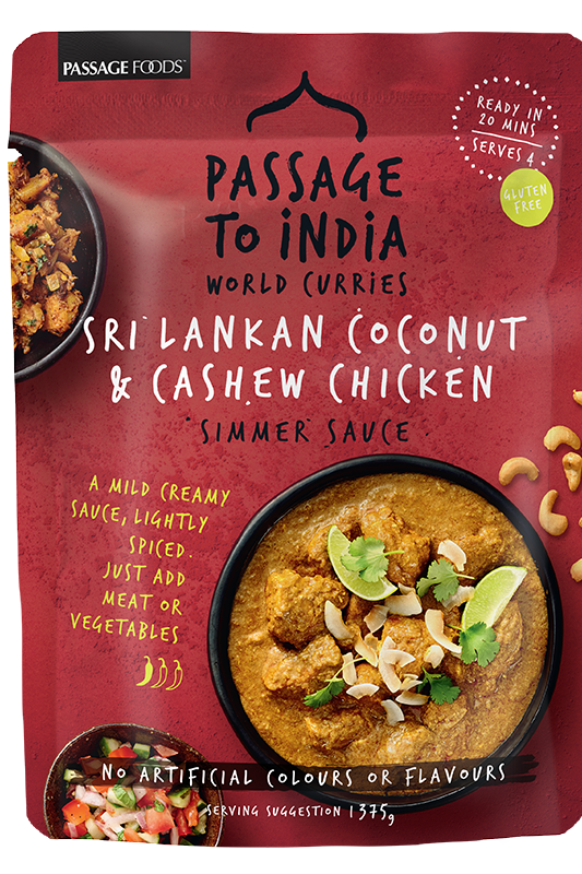 Coconut & Cashew Curry