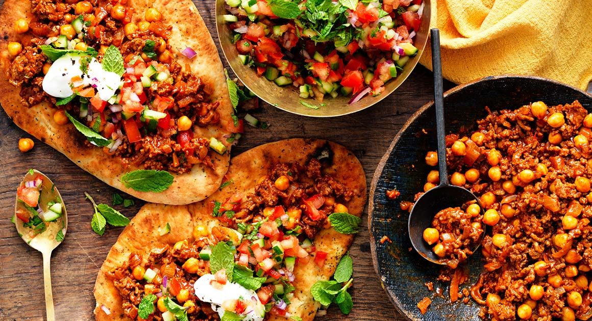 Mince Curry With Chickpeas