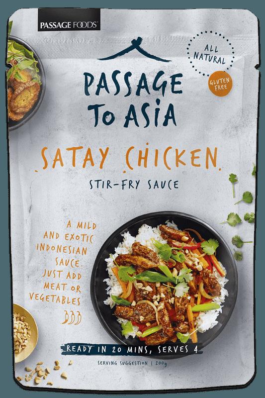 Satay Chicken Passage Foods