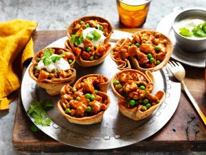 Butter Chicken Roti Bowls by Passage to India