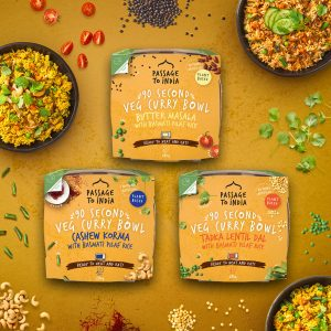 Passage to India 90 Second Veg Curry Bowls