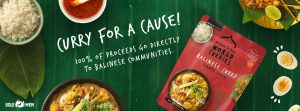 Balinese curry simmer sauce from the Curry For A Cause Campaign