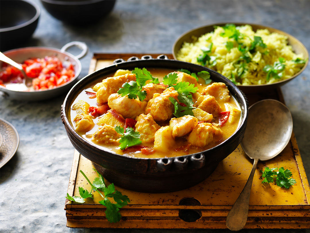 Quick Balinese Fish Curry
