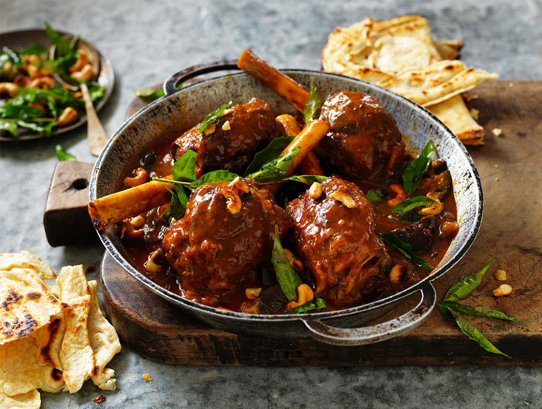 Sri Lankan Lamb Shank Curry