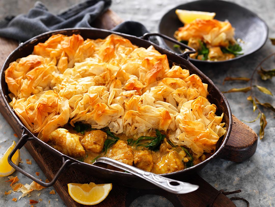 Punjabi Lemon Curry Fish Pie