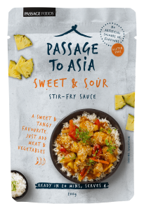 New Passage to Asia Sweet and Sour Stir-Fry Sauce