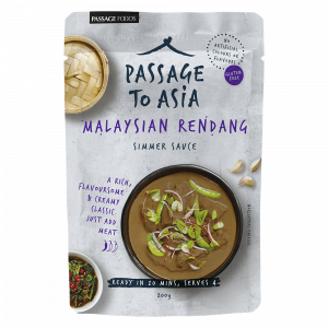 New Passage to Asia Malaysian Rendang Simmer Sauce