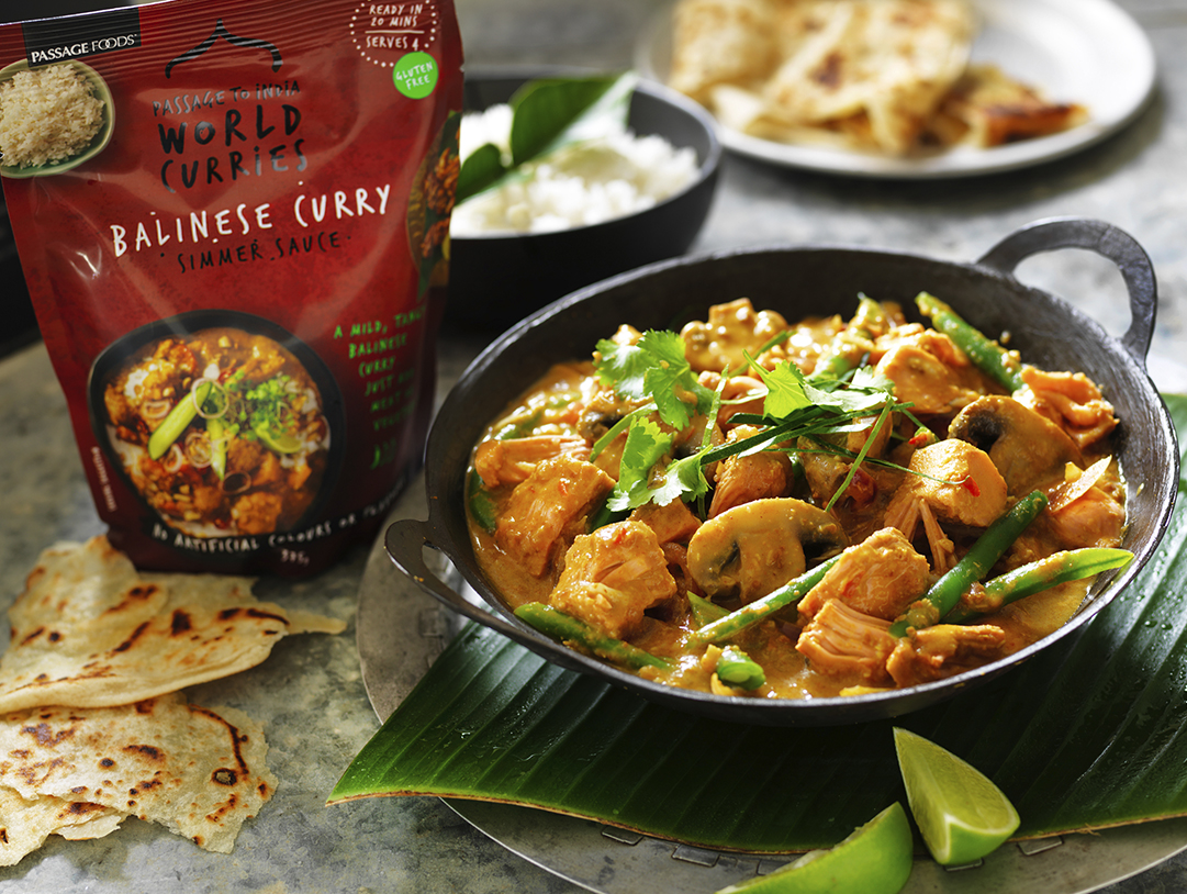 Celebrate Health News Our Balinese Curry Is Available Now At Coles! Feature Image