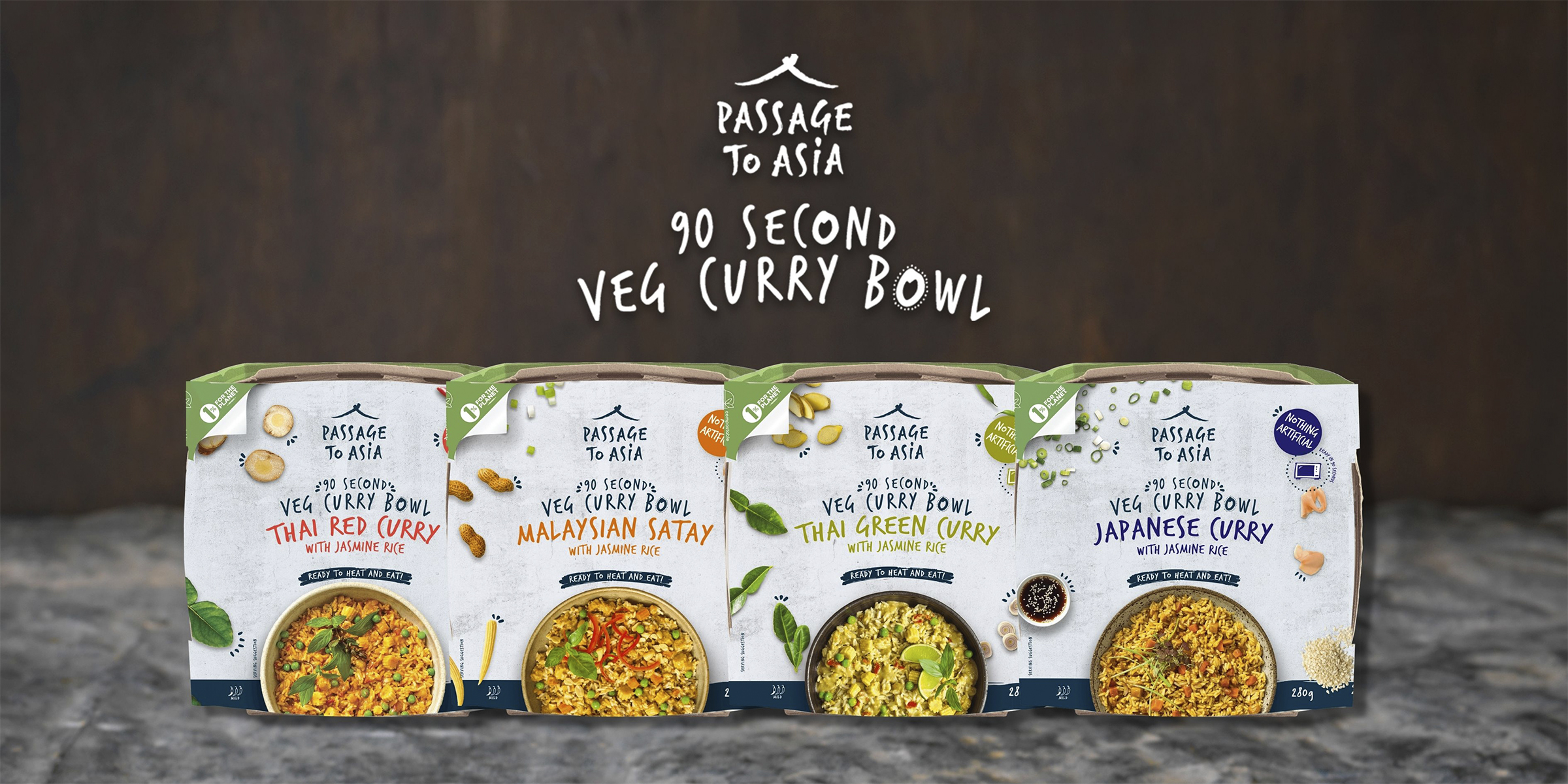 Passage to Asia Veg Curry Bowls